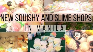 NEW SQUISHY AND SLIME SHOPS IN MANILA    SQUISHY VLOG (YIIPPEE, HAPPY BOX)