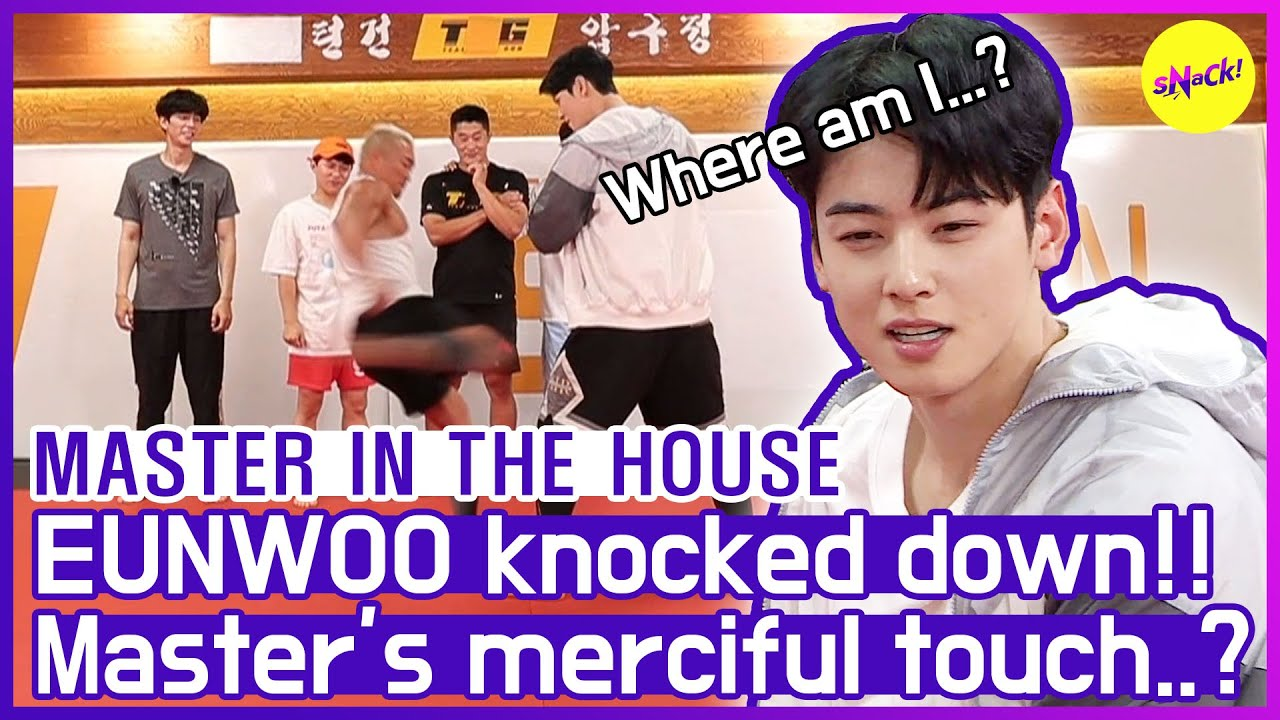 [HOT CLIPS] [MASTER IN THE HOUSE ] Sunghoon never goes easy on anyone and EUNWOO😂😂 (ENG SUB)