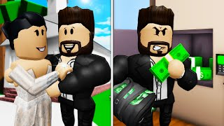 His Mom Married A Criminal?! A Roblox Brookhaven Movie (Brookhaven RP)