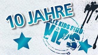 """""""Alle Kids sind VIPs"""" feiert zehnjähriges Jubiläum: 700 Projekte mit 15.000 engagierten Jugendlichen"""