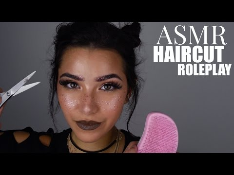 ASMR Haircut Role Play (Scalp Massage, Shaving, Hair Brushing, Hair Inspection, Shampoo...)