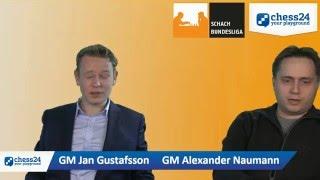 Die Schachbundesliga Show mit Jan Gustafsson und Alexander Naumann