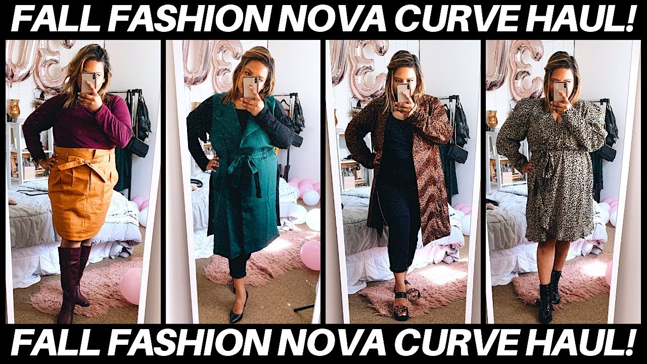2019 Fall Lookbook/ Fashion Nova Curve Try On Haul | Plus Size Fashion