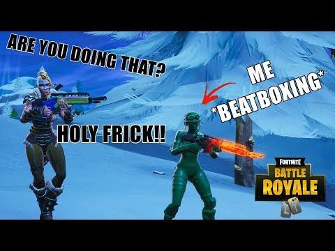 Beatbox Random Duos In Fortnite! #3 -