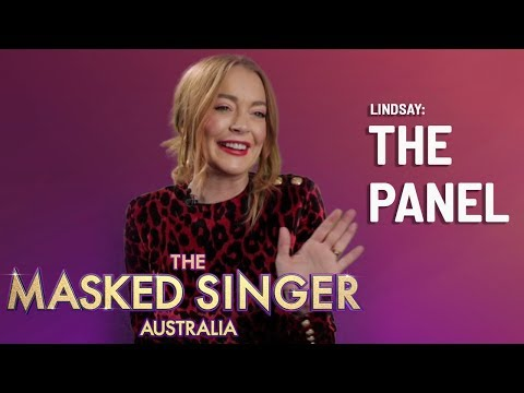 Panellists Revealed: Lindsay Lohan | The Masked Singer Australia