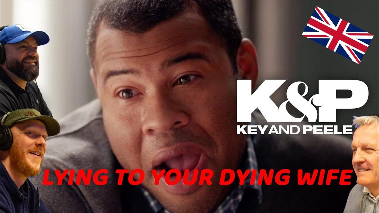 Key & Peele - Lying to Your Dying Wife REACTION!! | OFFICE BLOKES REACT!!