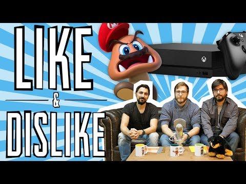 LIKE & DISLIKE: Xbox One X, Super Mario Odyssey, Call of Duty: WWII (otra vez)...