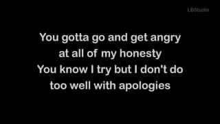 Justin Bieber sorry song lyrics