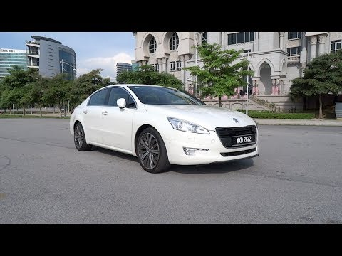 2012 Peugeot 508 GT Start-Up, Full Vehicle Tour, Test Drive, and Night Start-Up