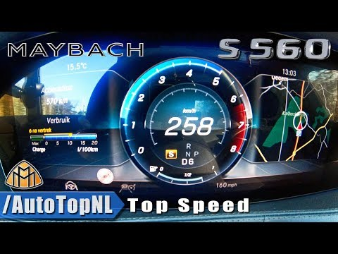 MERCEDES MAYBACH S560 | 0-258kmh / 0-160mph | ACCELERATION & TOP SPEED by AutoTopNL