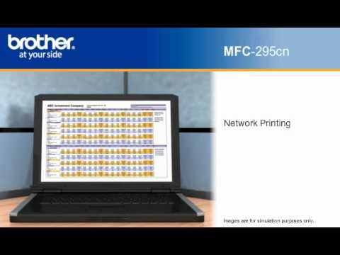 Brother MFC-295CN LAN Drivers for Windows Download
