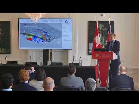 Ascot Resources investor presentation by Derek White at CMS 2018