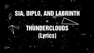Download LIRIK LAGU LABRINTH, SIA, DAN DIPLO (LSD) - THUNDER CLOUDS (LYRICS) Mp3