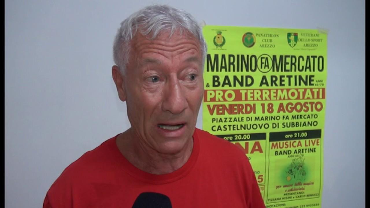Storiche band aretine e marino fa mercato pro terremotati for Marino fa mercato letti