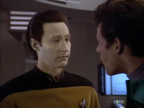 Dr. Julian Bashir Meets Lieutenant Commander Data