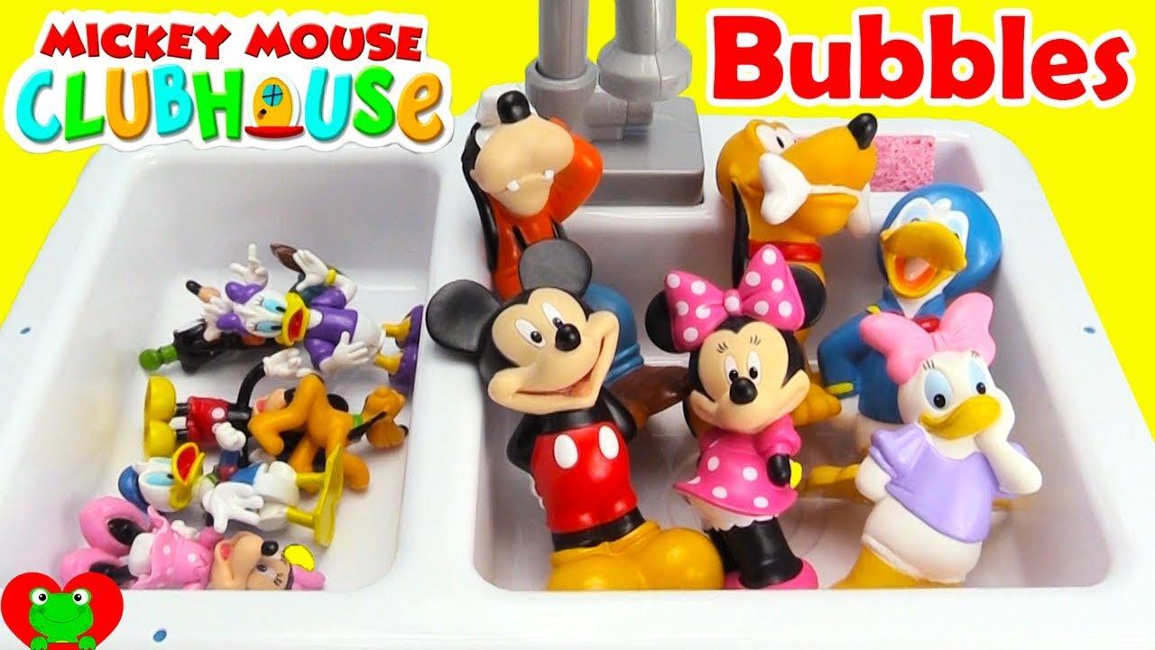 Disney Jr. Mickey Mouse Club House Friends Bubble Bath LEARN ...