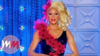 Top 10 Gag-Worthy Outfits Worn by RuPaul on RuPaul
