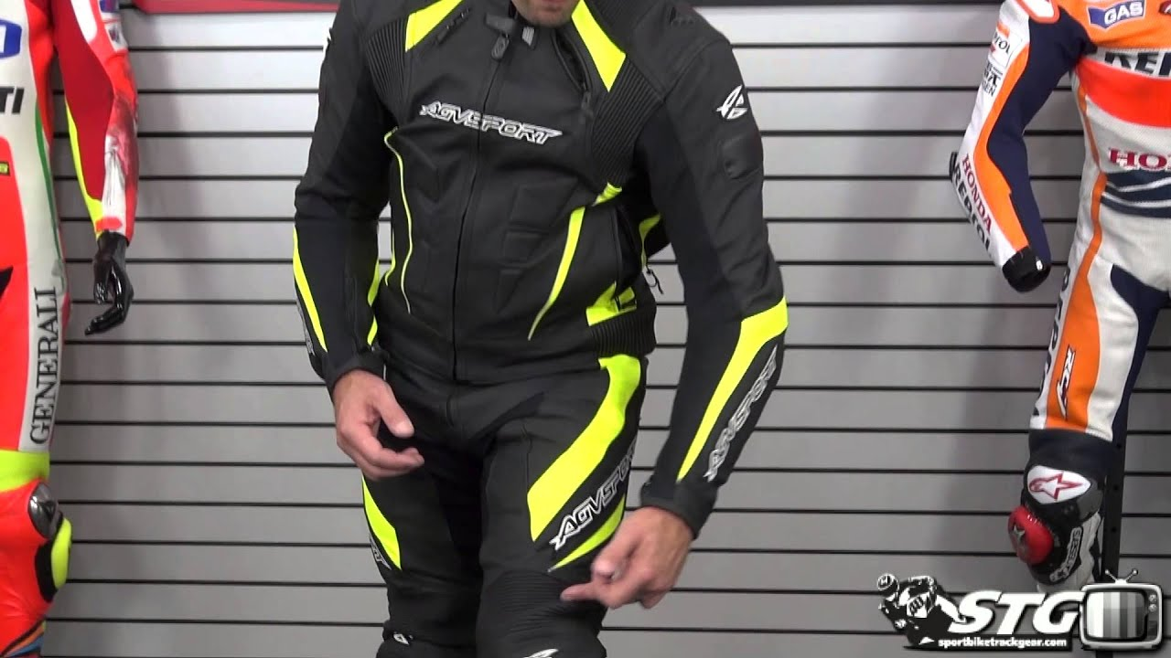 Agv Sport Delta Leather Two Piece Race Suit Review From