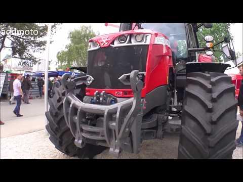 The 2020 MASSEY FERGUSON 8740S tractor