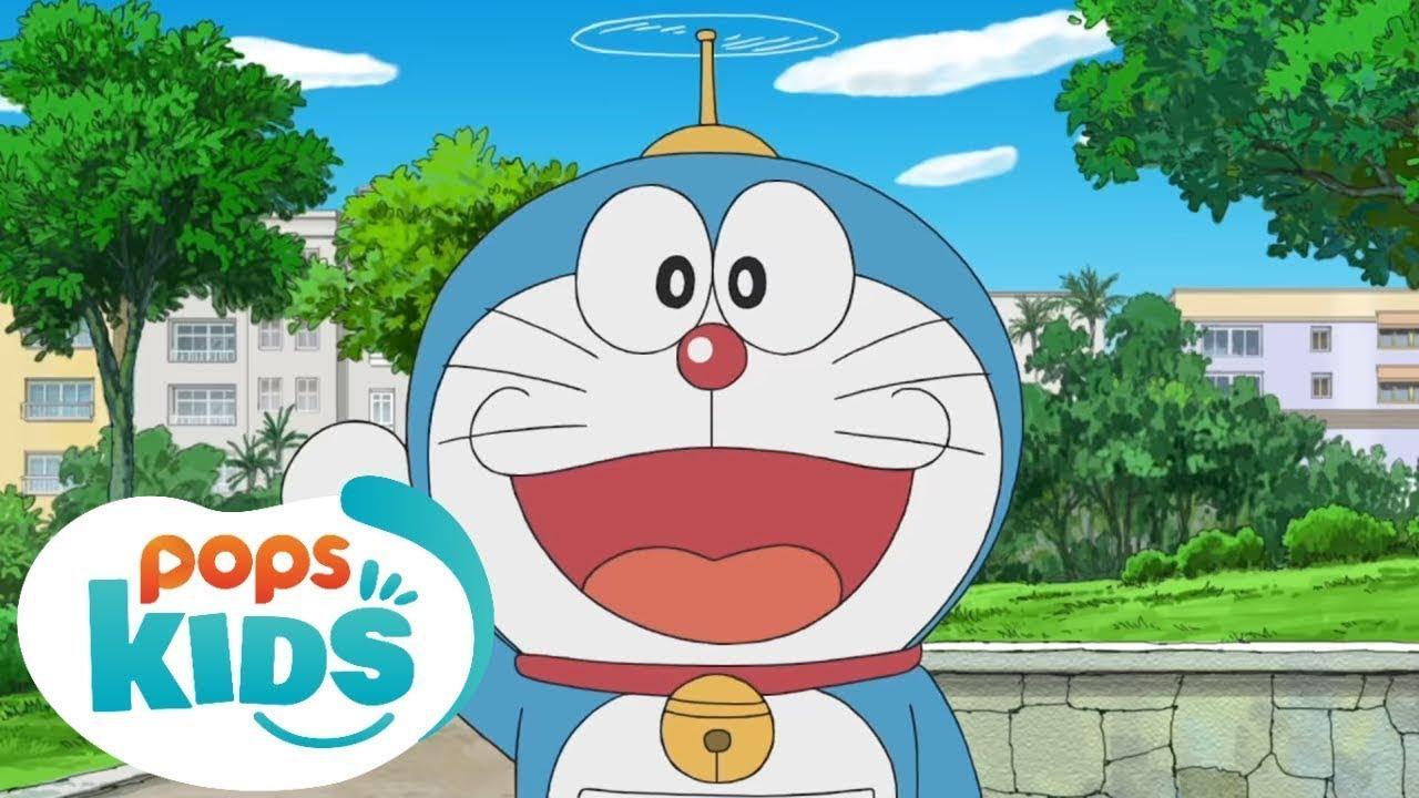 Siêu Nhân Bút Chì Hướng Dẫn Vẽ Doraemon Đơn Giản - Hoạt Hình Doraemon Giáo Dục An Toàn Giao Thông