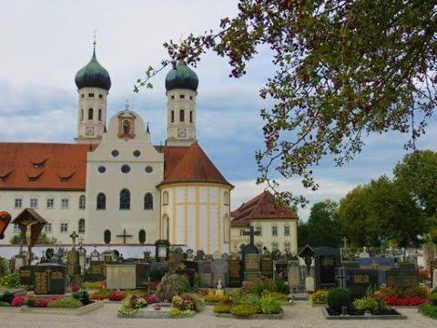 Kloster Benediktbeuern (Benediktbeuern Abbey) in Upper Bavaria (Germany)