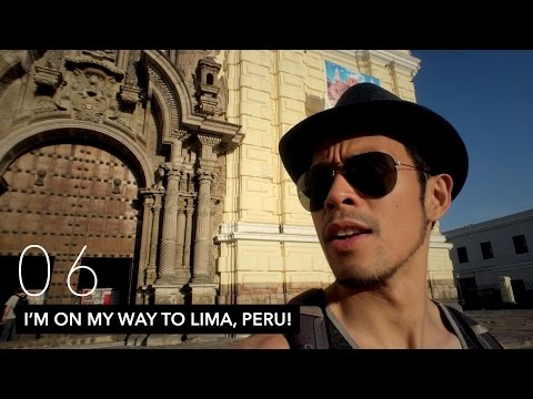I'm On My Way To Lima, Peru! | VLOG 06 | 05.09.2016 - 05.10.2016