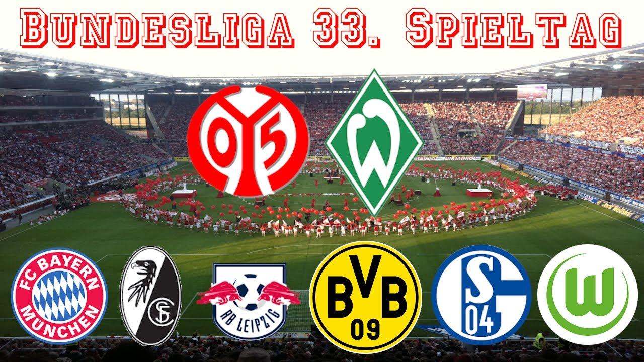 33 Spieltag Bundesliga