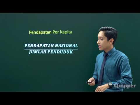 Quipper Video - Pendapatan Nasional - Persiapan SBMPTN Ekonomi 2017