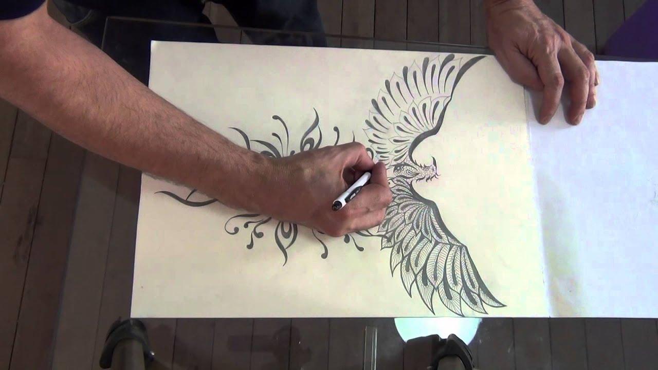Desenho Fenix Jack5 Youtube