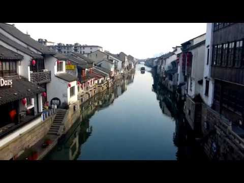 Wuxi City Walk, Jiangsu Province, China