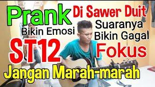 Viral.!! PRANK Di Sawer Duit_ST-12 Jangan Marah-marah_Suaranya Bikin Gagal Fokus (cover by Teddy J)