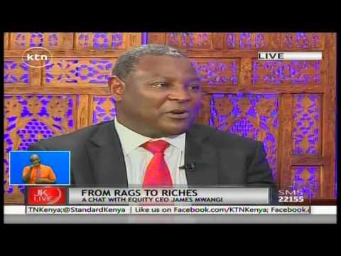 Jeff Koinange Live with Equity Bank CEO James Mwangi part 1