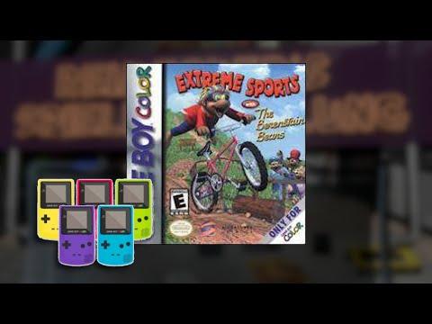 Gameplay : Extreme Sports mit den Berenstain B�ren [Gameboy Color]