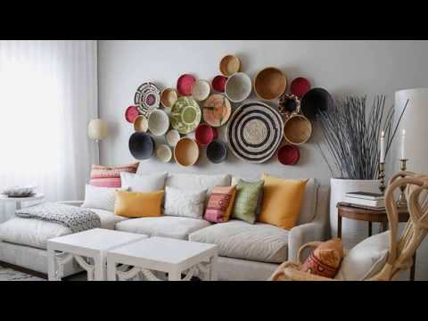 Top 40 Best Wall Decoration Ideas | DIY Painting With Paper For Party With Cardboard Lights 2018