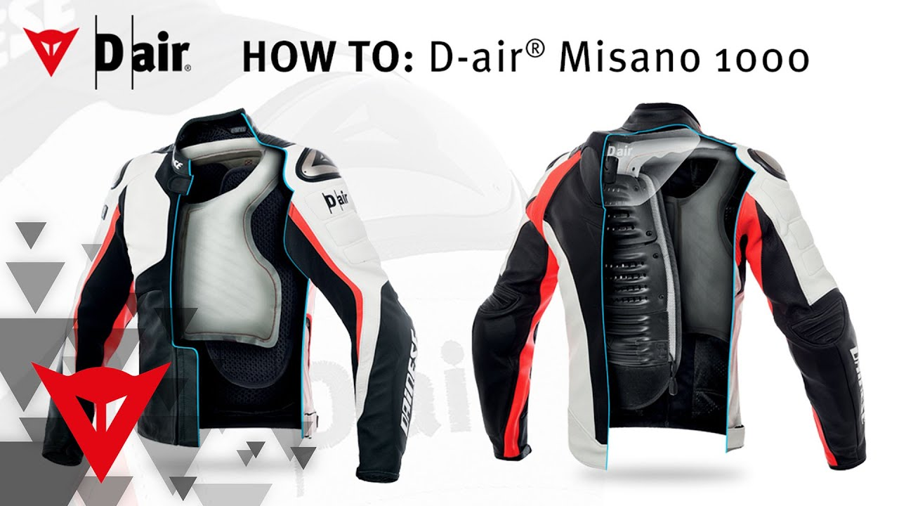 dainese how to d air misano 1000 youtube. Black Bedroom Furniture Sets. Home Design Ideas