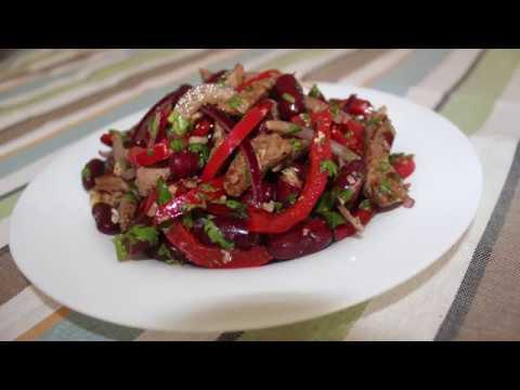 Tbilisi salatının hazırlanması.Mayonezsiz Salat Resepti.
