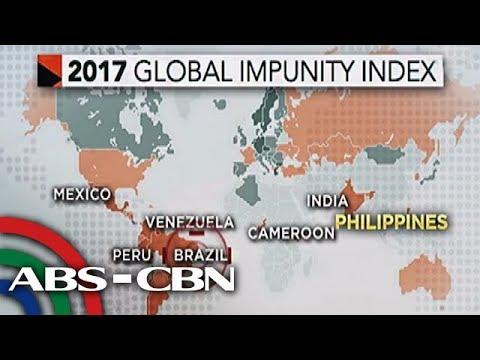 Bandila: Pilipinas, nangunguna sa mga bansang wala umanong hustisya