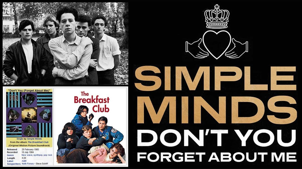 Simple Minds - DonT You (Forget About Me)