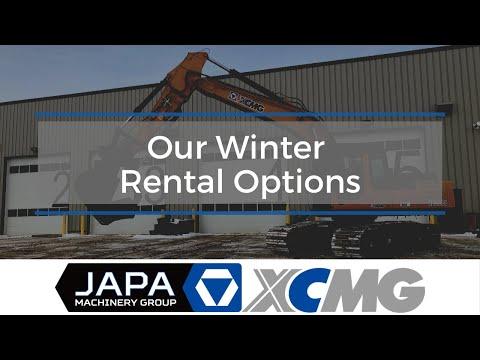 Winter Rental Options - JAPA Machinery   Heavy Equipment Rentals/Sales In Edmonton   780-962-5272