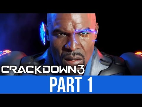 CRACKDOWN 3 Gameplay Walkthrough Part 1 - INTRO (Full Game)