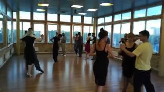 Уроки в школе аргентинского танго