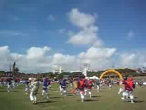 全島エイサー2008「南桃原青年会」