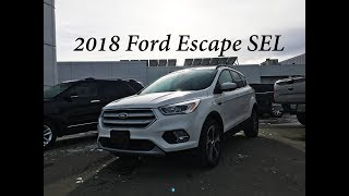 2018 Ford Escape SEL Review, Technology