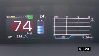 Toyota Prius - Acceleration 0-100 km/h (Racelogic)