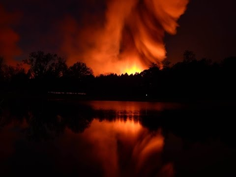 Time Lapse of Kirkville Fire in Onondaga County