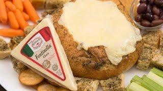 Cheese Fondue In A Bread Bowl