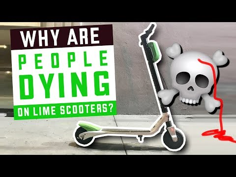 Why are people DYING on Lime Scooters?