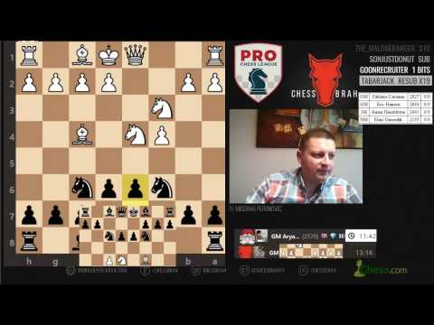 CARLSEN VS CARUAN Norway vs Montreal Pro Chess round 5