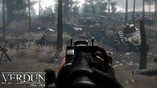 MOST REALISTIC SNIPER GAMEPLAY IN GAMES ABOUT WW1 ! Verdun ! Shooter on PC