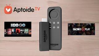 INSTALANDO APPS ANDROID NO FIRE TV STICK DA AMAZON COM APTOIDE TV